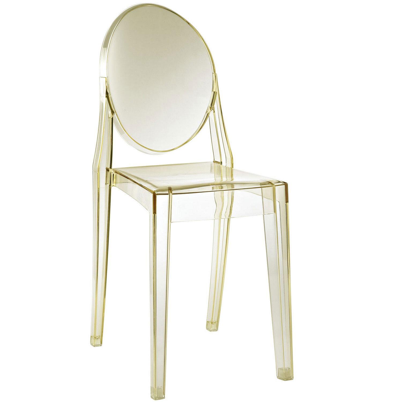Modway Casper Dining Side Chair - Yellow