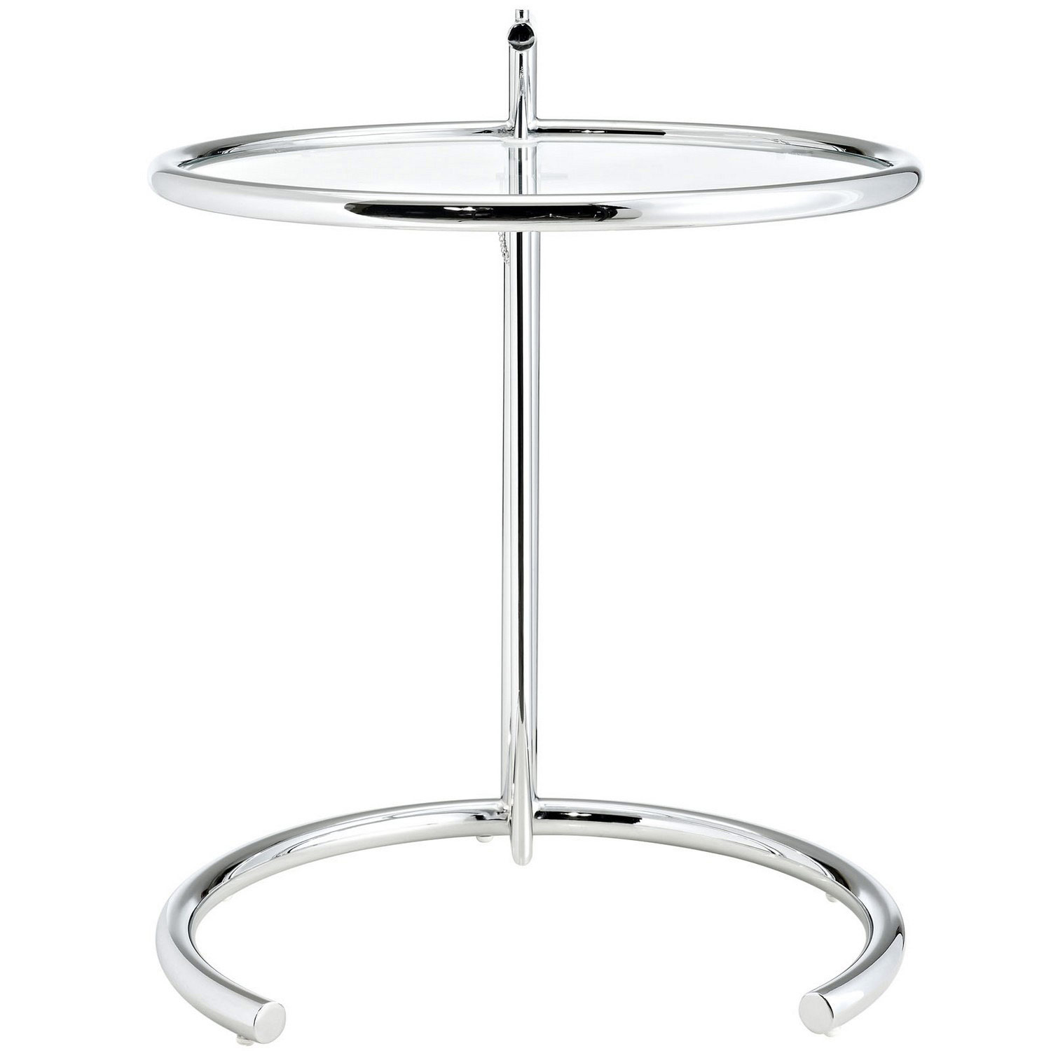 Modway Eileen Gray Side Table - Silver