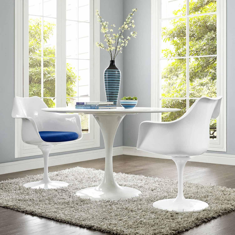 Modway Lippa Dining Armchair Set of 2 - Blue