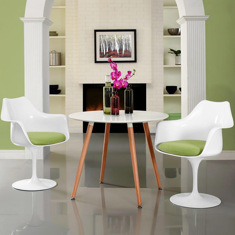Modway Lippa Dining Armchair Set of 2 - Green