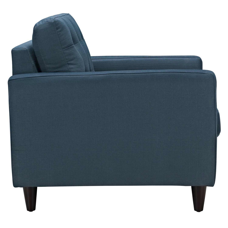Modway Empress Armchair Upholstered Set of 2 - Azure