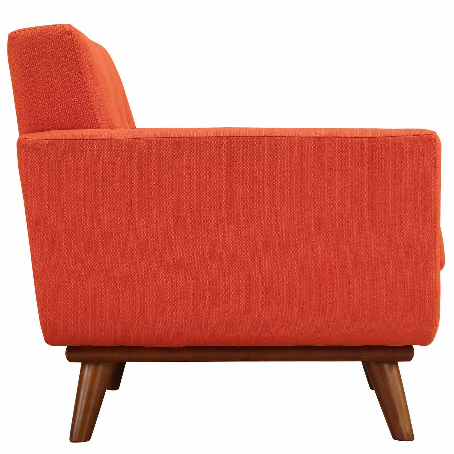 Modway Engage Armchair Wood Set of 2 - Atomic Red