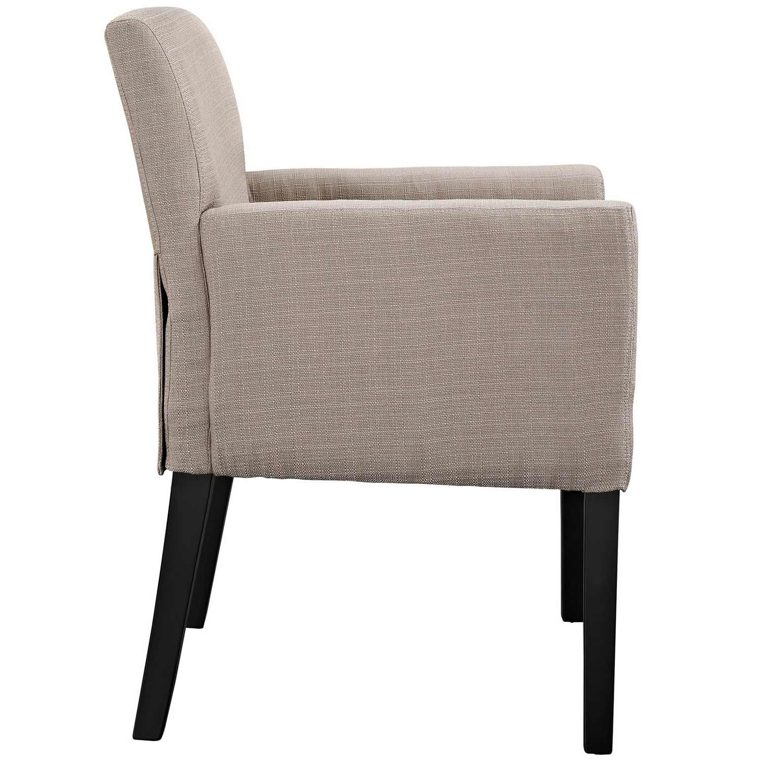Modway Chloe Armchair Set of 2 - Beige