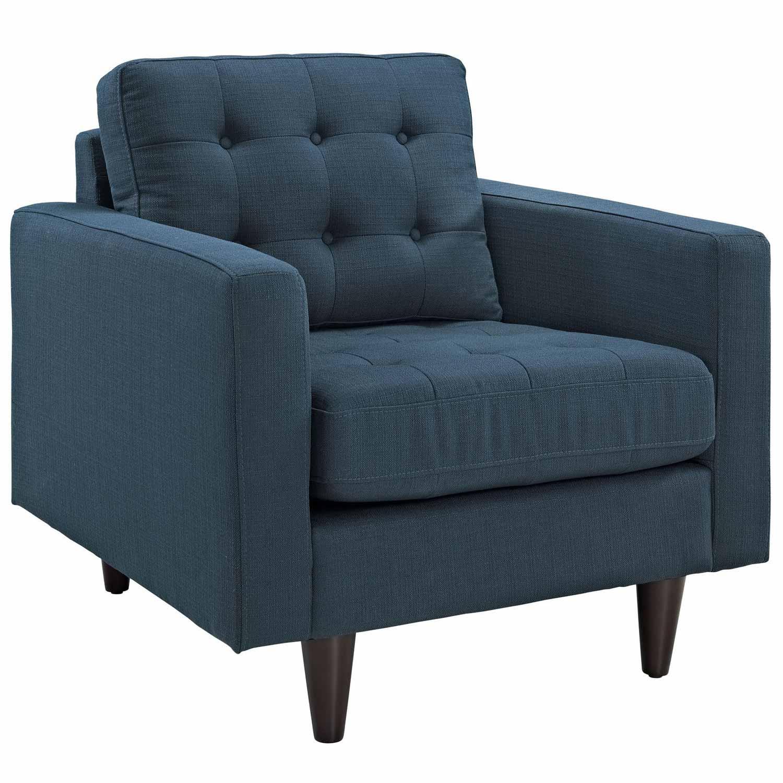 Modway Empress 2PC Armchair and Sofa Set - Azure