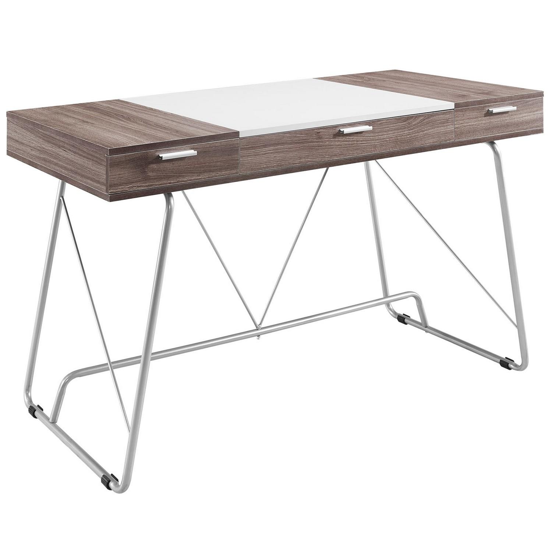 Modway Panel Office Desk - Birch