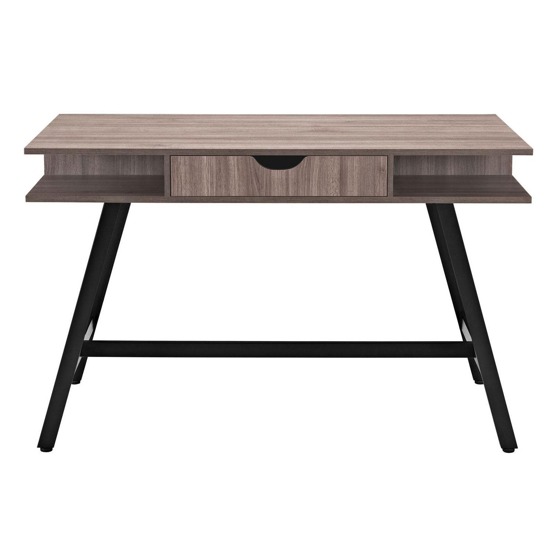 Modway Turnabout Office Desk - Birch