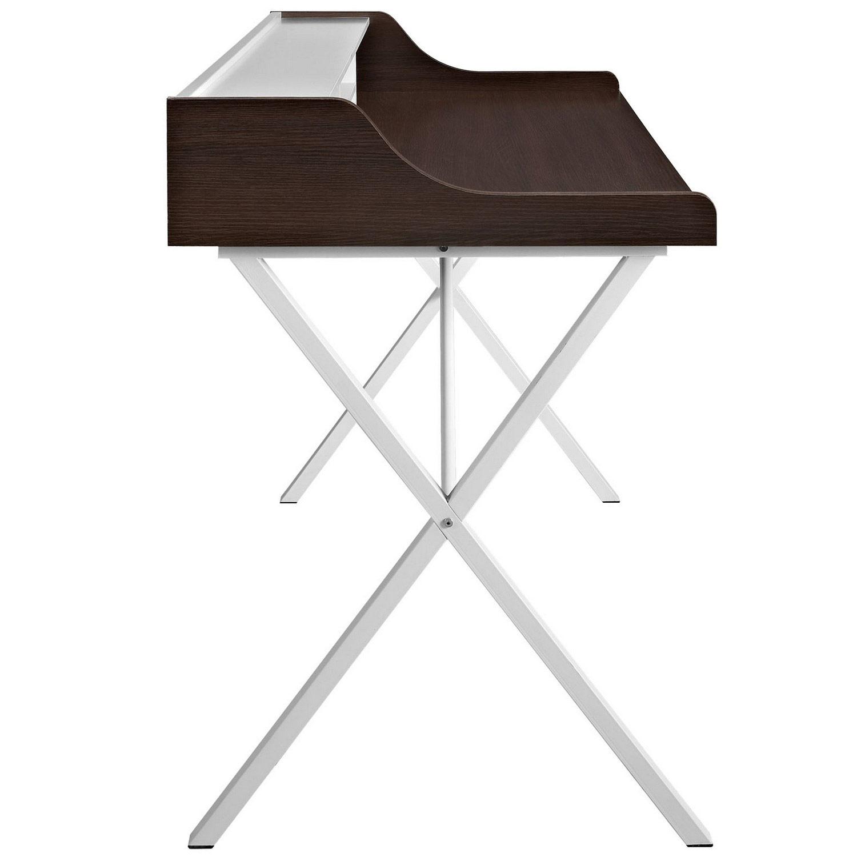 Modway Bin Office Desk - Cherry