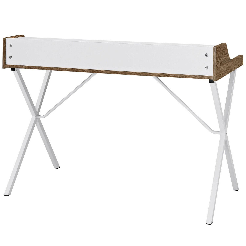 Modway Bin Office Desk - Walnut