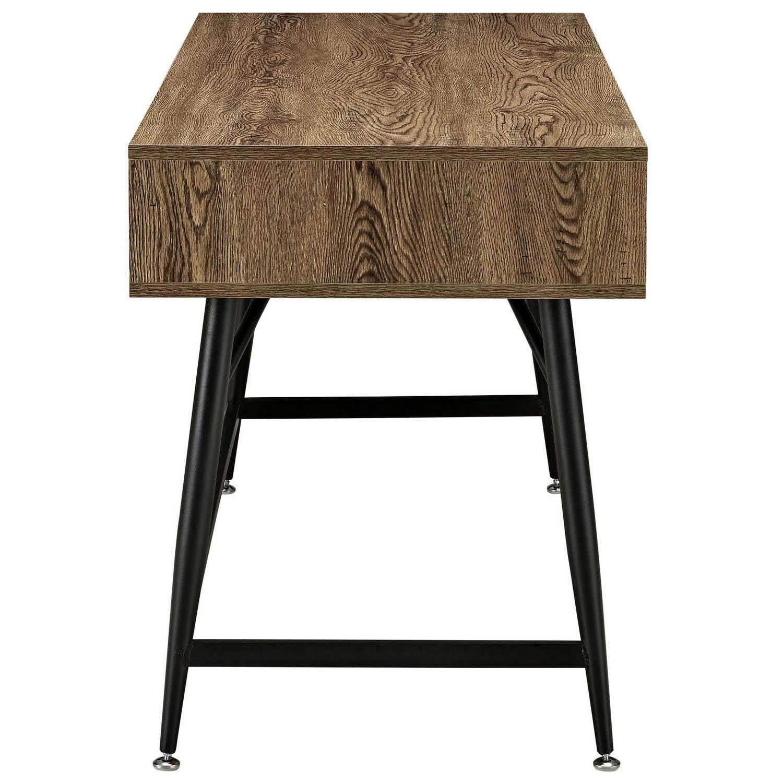 Modway Surplus Office Desk - Walnut