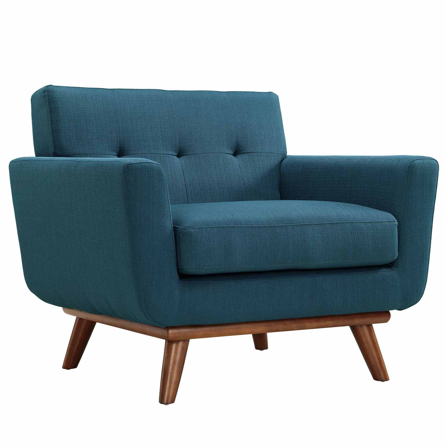 Modway Engage Armchairs and Sofa Set of 3 - Azure