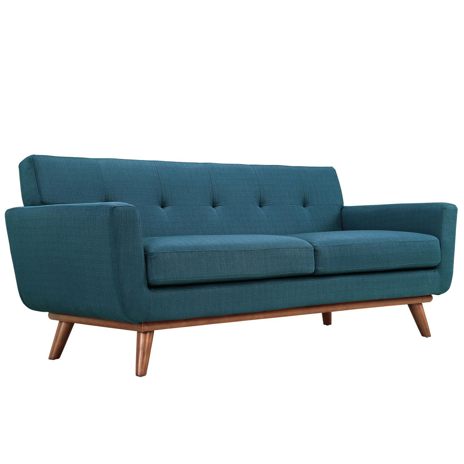 Modway Engage Armchair and Loveseat Set of 2 - Azure