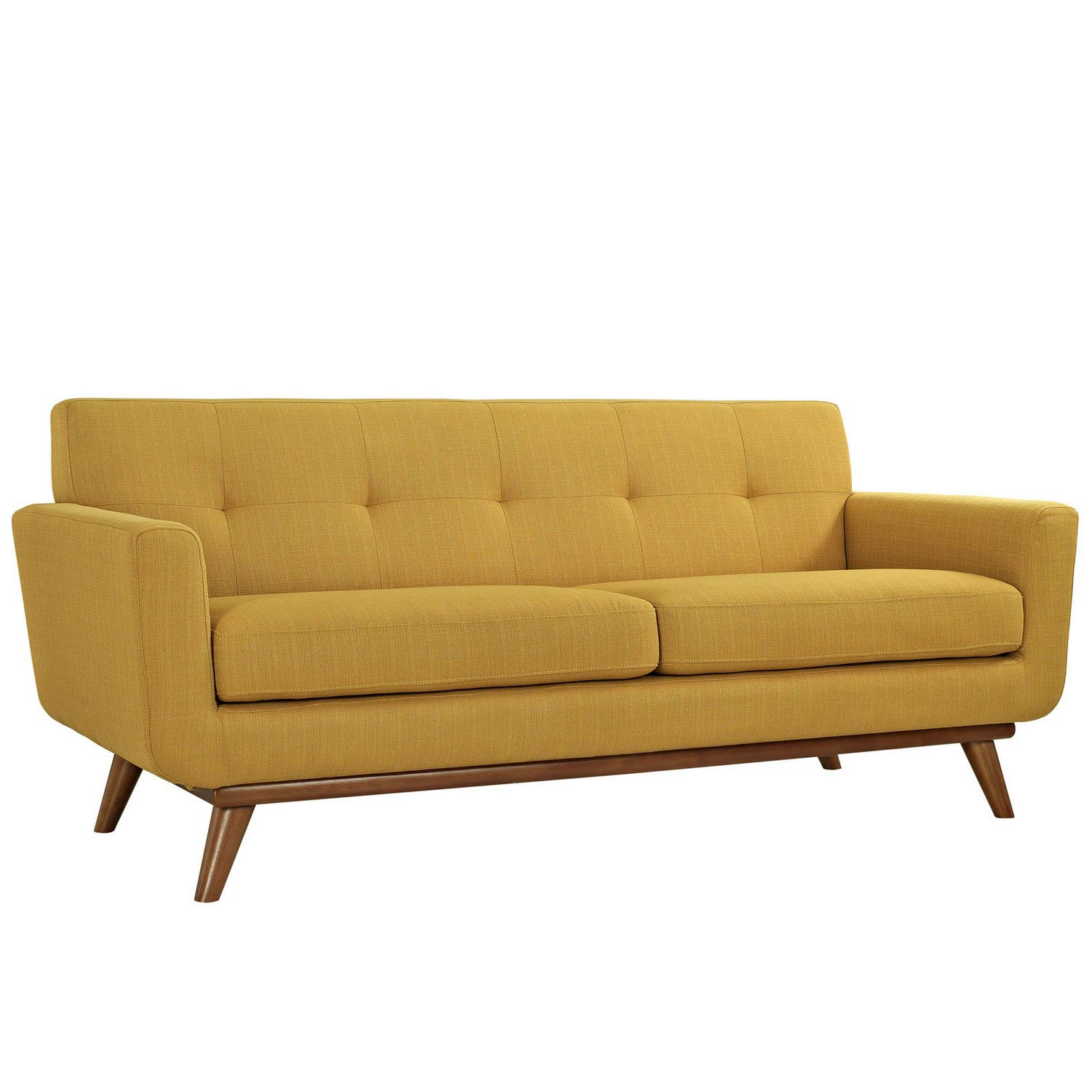 Modway Engage Armchairs and Loveseat Set of 3 - Citrus