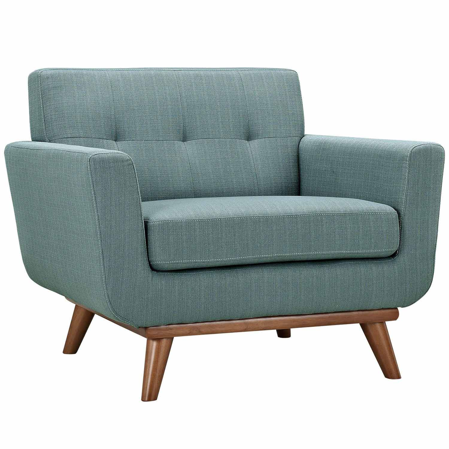 Modway Engage Armchairs and Loveseat Set of 3 - Laguna