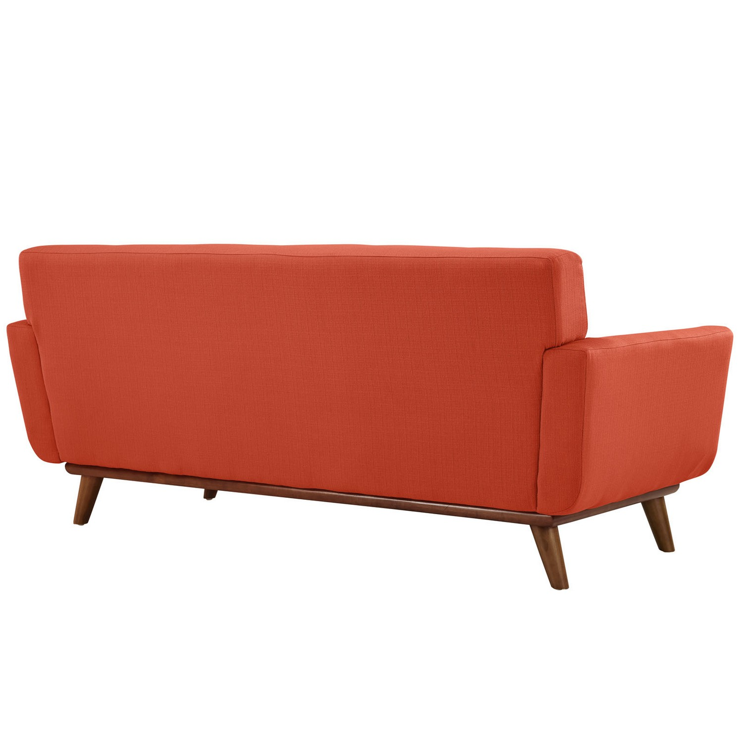 Modway Engage Loveseat and Sofa Set of 2 - Atomic Red