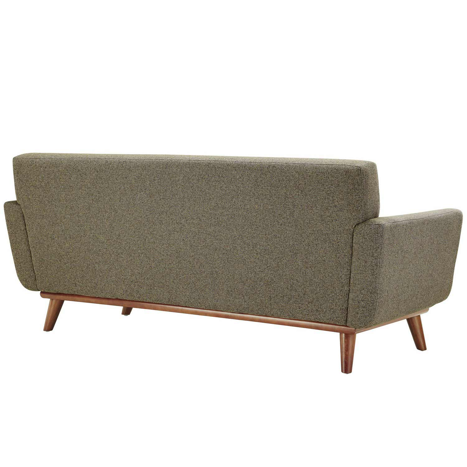 Modway Engage Loveseat and Sofa Set of 2 - Oat