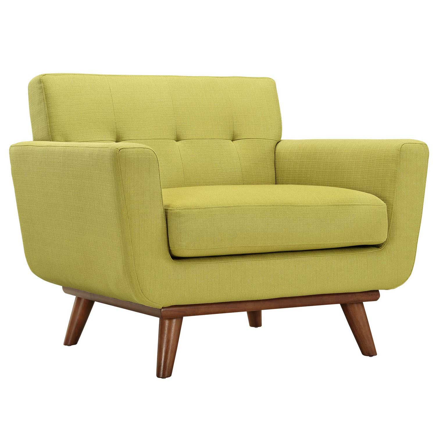 Modway Engage 3 PC Sofa Loveseat and Armchair Set - Wheatgrass