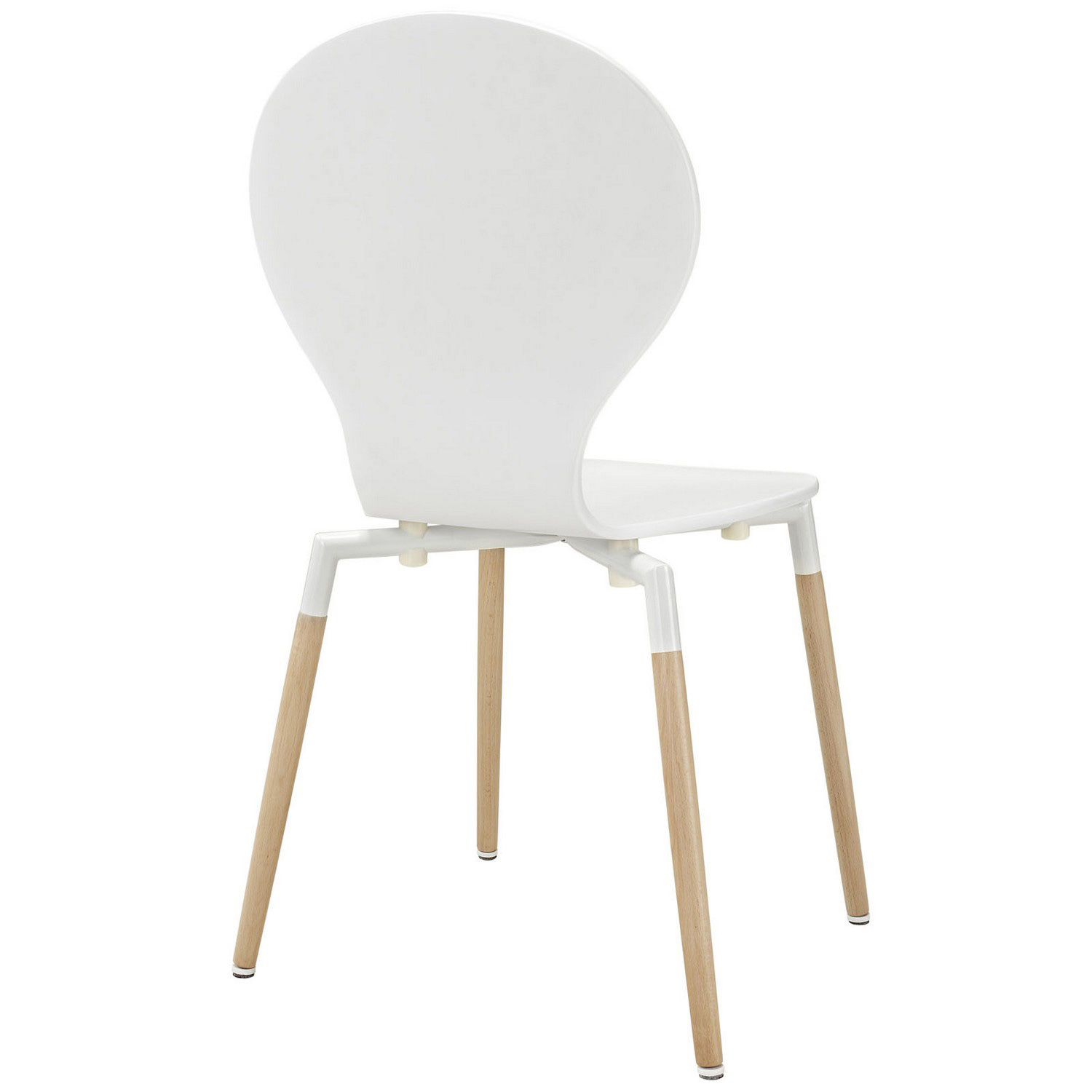 Modway Path Dining Chair Set of 2 - White
