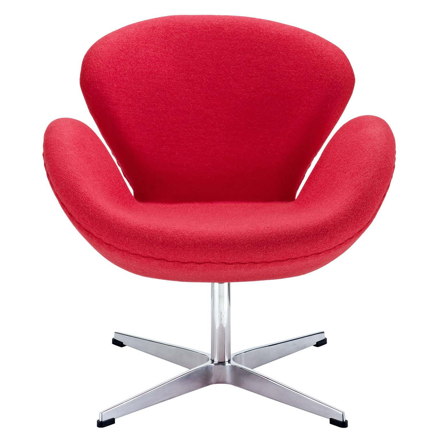 Modway Wing Lounge Chair - Red