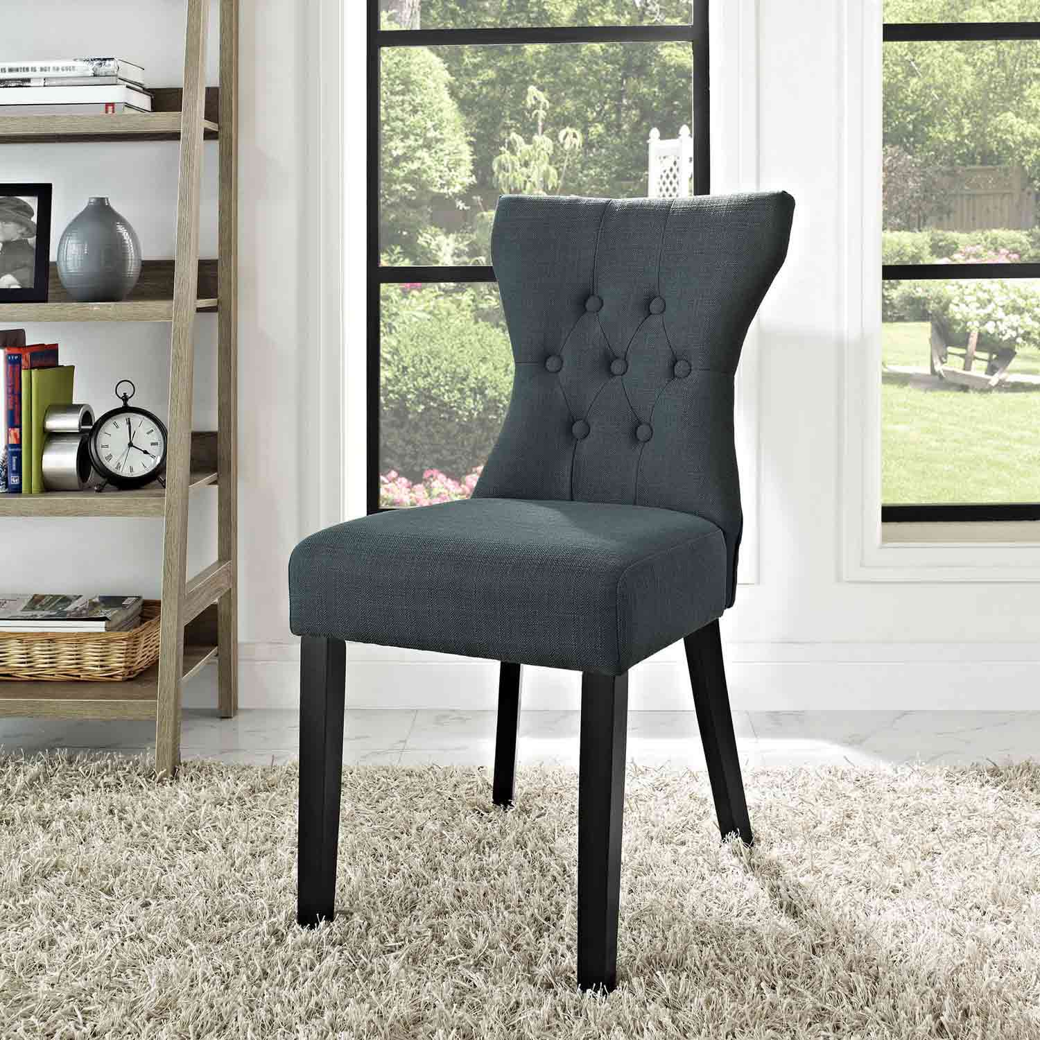 Modway Silhouette Dining Side Chair - Gray