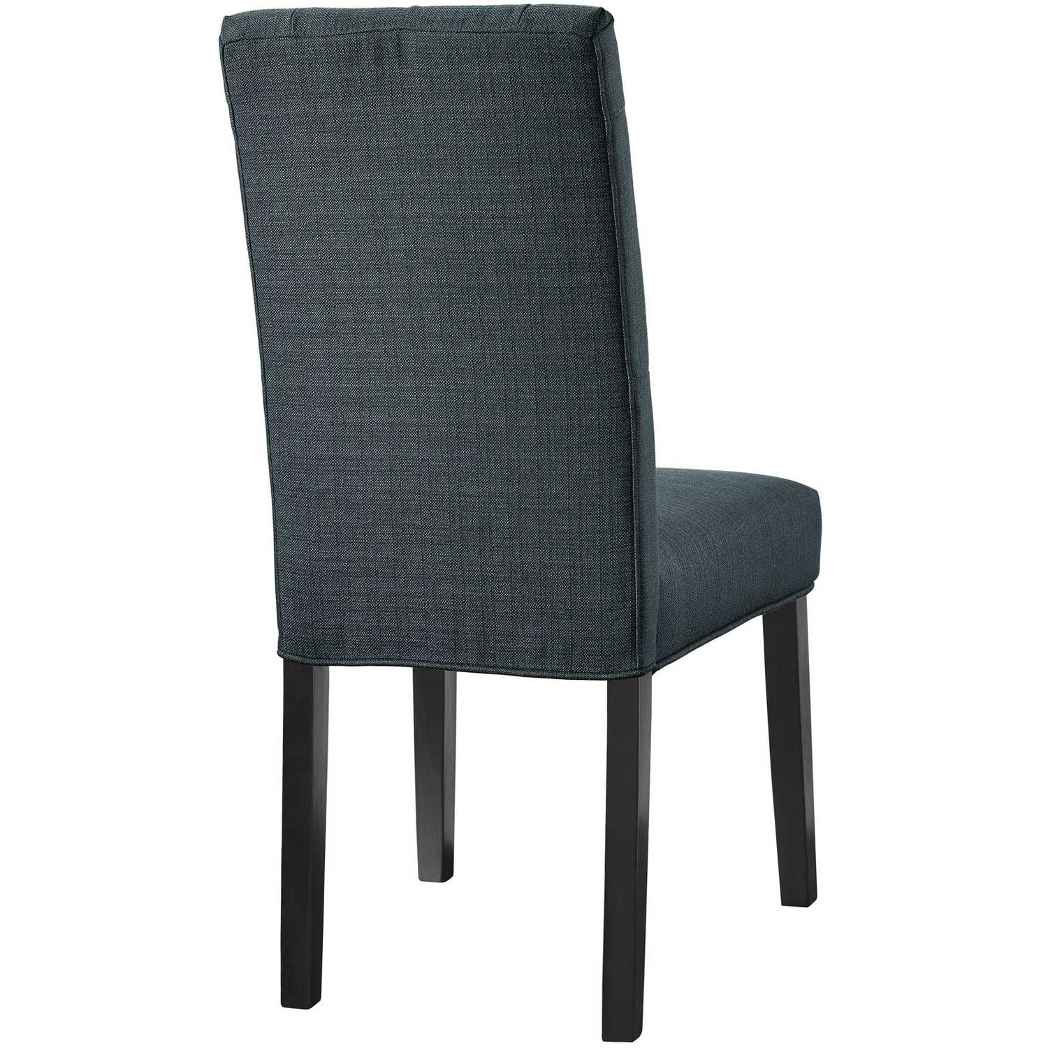 Modway Confer Dining Fabric Side Chair - Gray