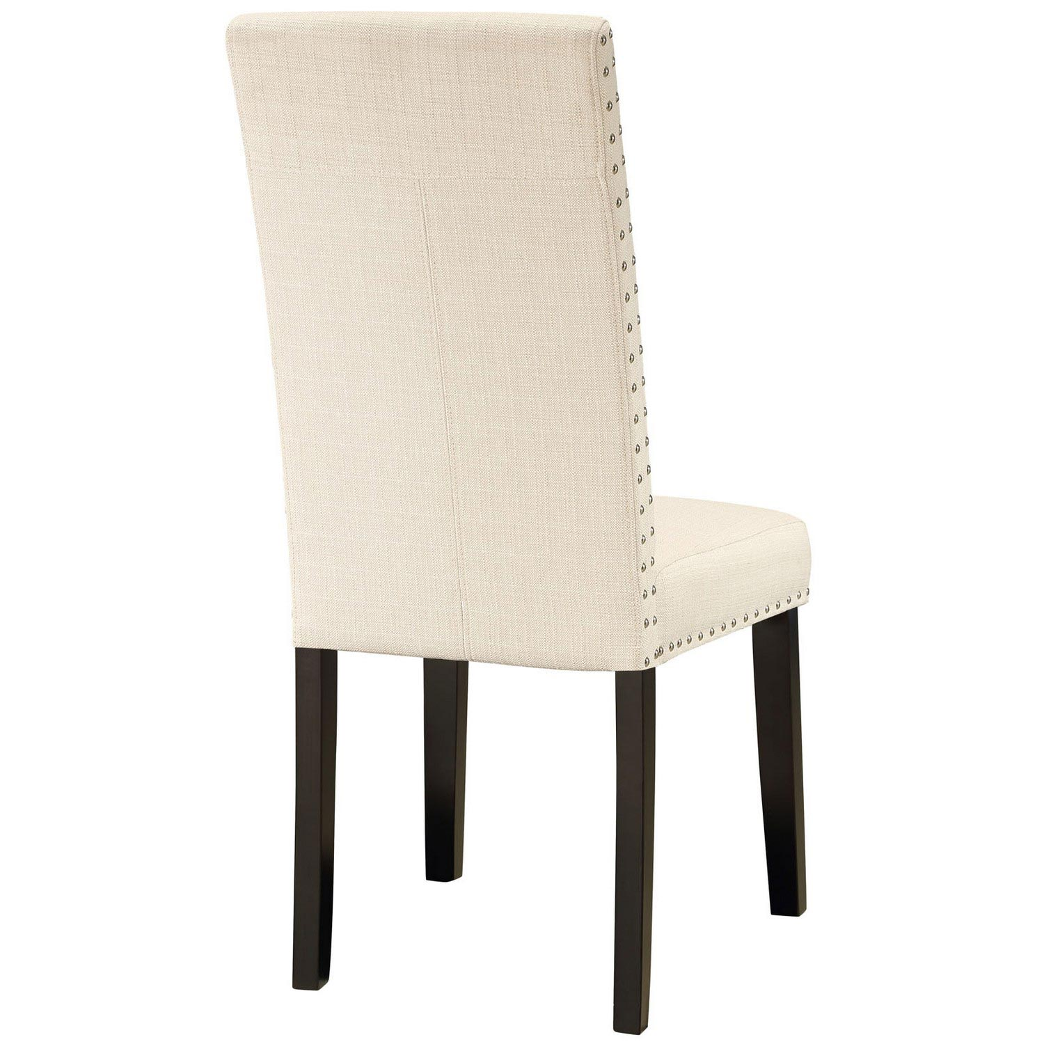 Modway Parcel Dining Fabric Side Chair - Beige