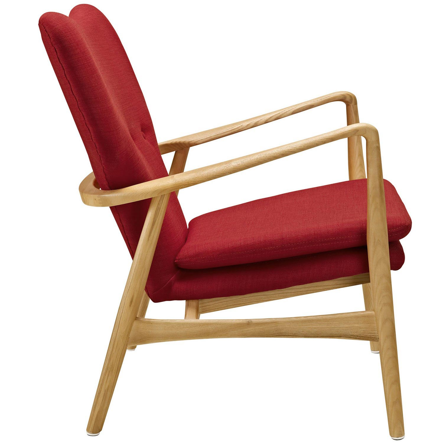 Modway Heed Lounge Chair - Birch Red