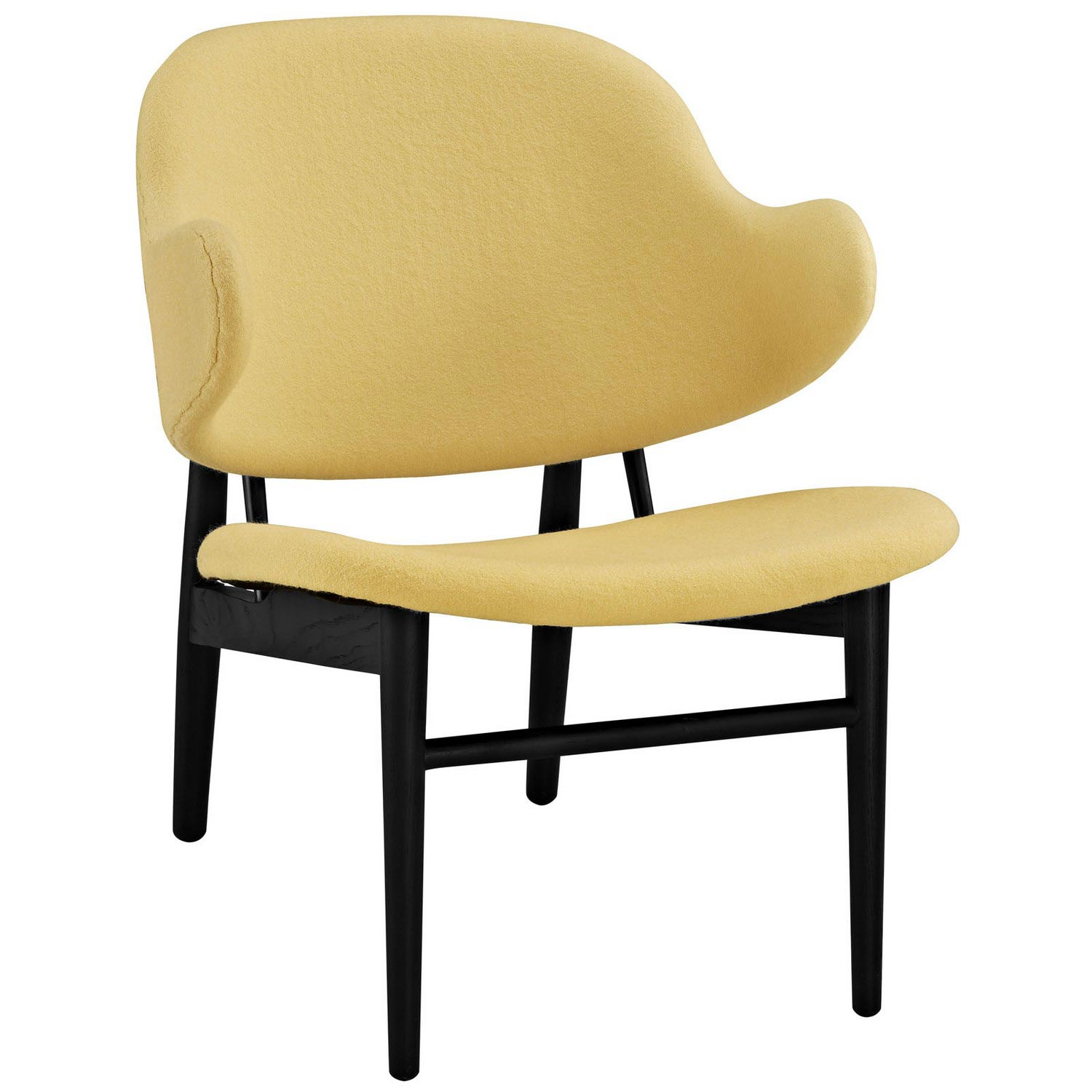 Modway Suffuse Lounge Chair - Black/Yellow
