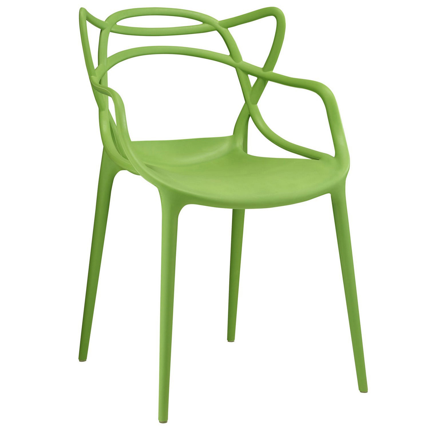 Modway Entangled Dining Armchair - Green
