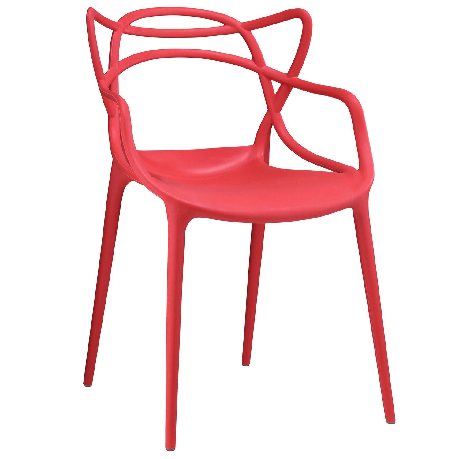 Modway Entangled Dining Armchair - Red