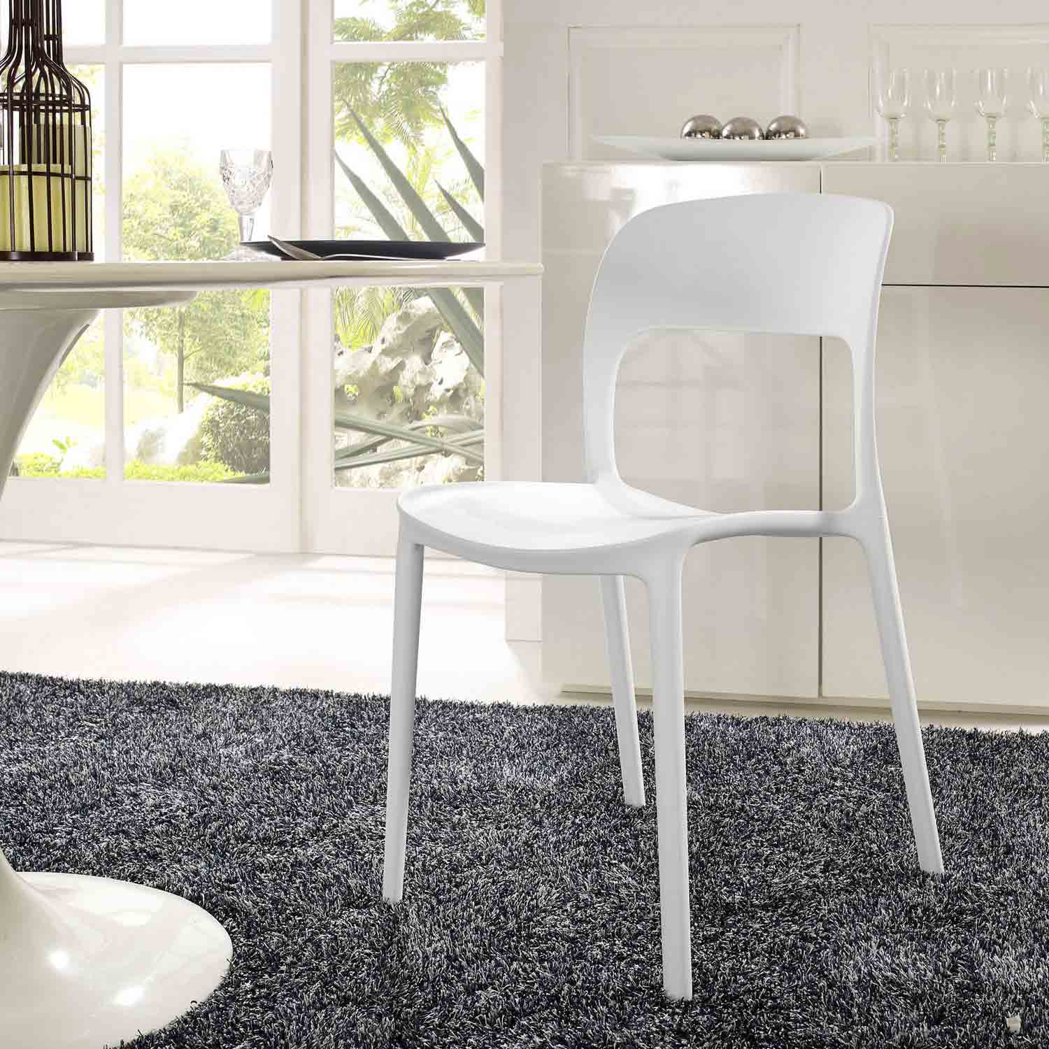 Modway Hop Dining Side Chair - White
