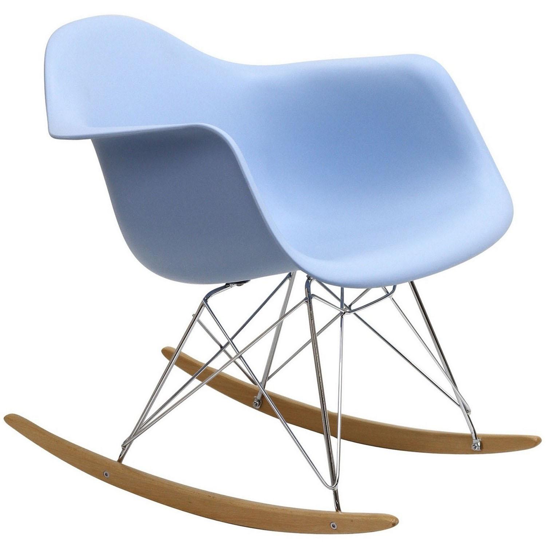 Modway Rocker Lounge Chair - Blue