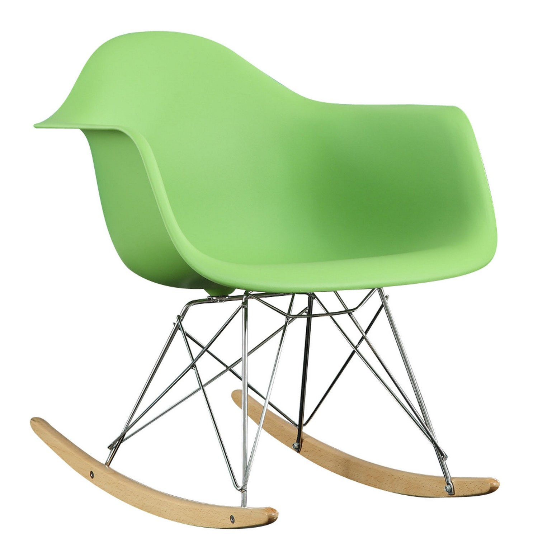 Modway Rocker Lounge Chair - Green