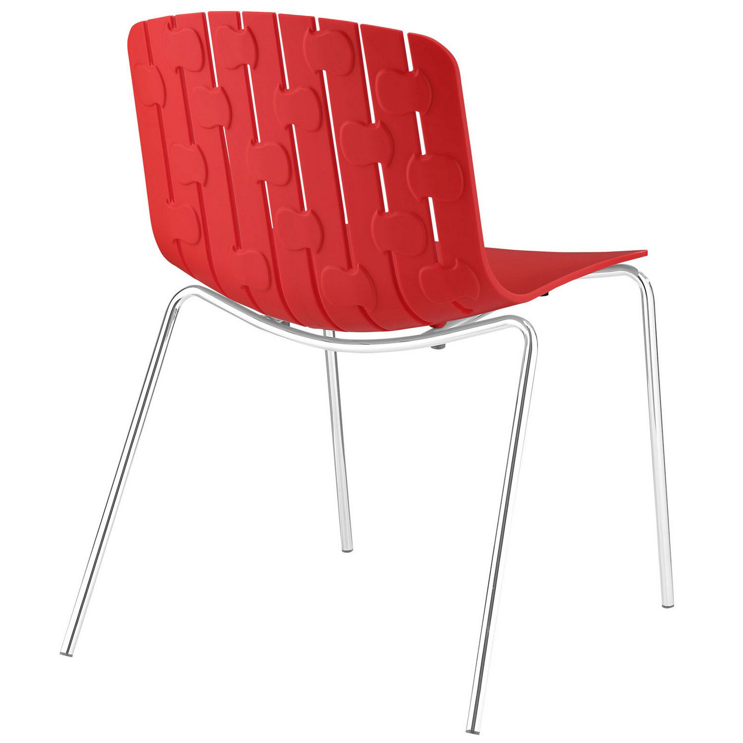 Modway Trace Dining Side Chair - Red