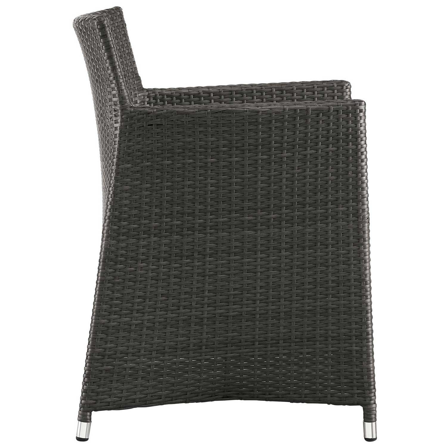 Modway Junction Outdoor Patio Armchair - Brown/White