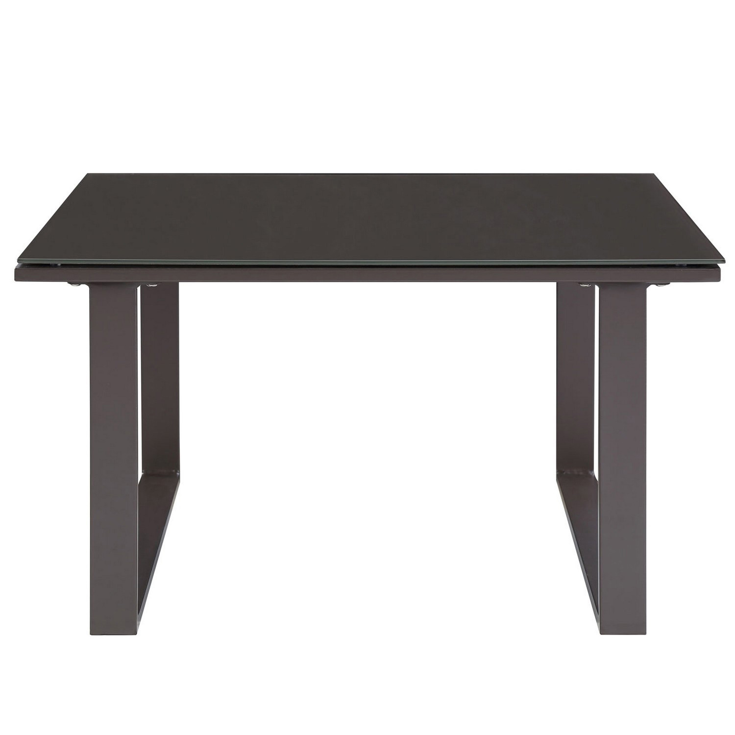 Modway Fortuna Outdoor Patio Side Table - Brown