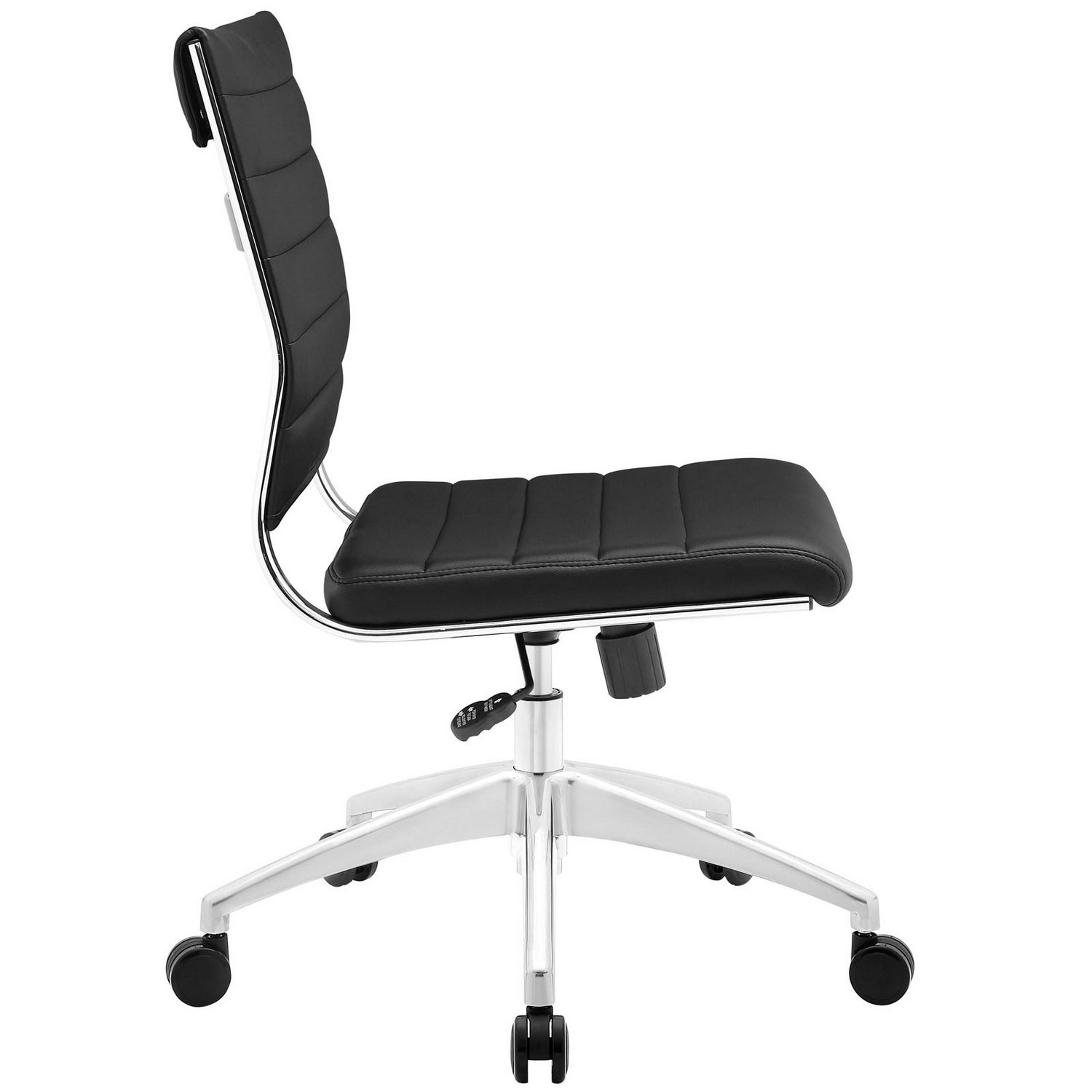Modway Jive Armless Mid Back Office Chair - Black