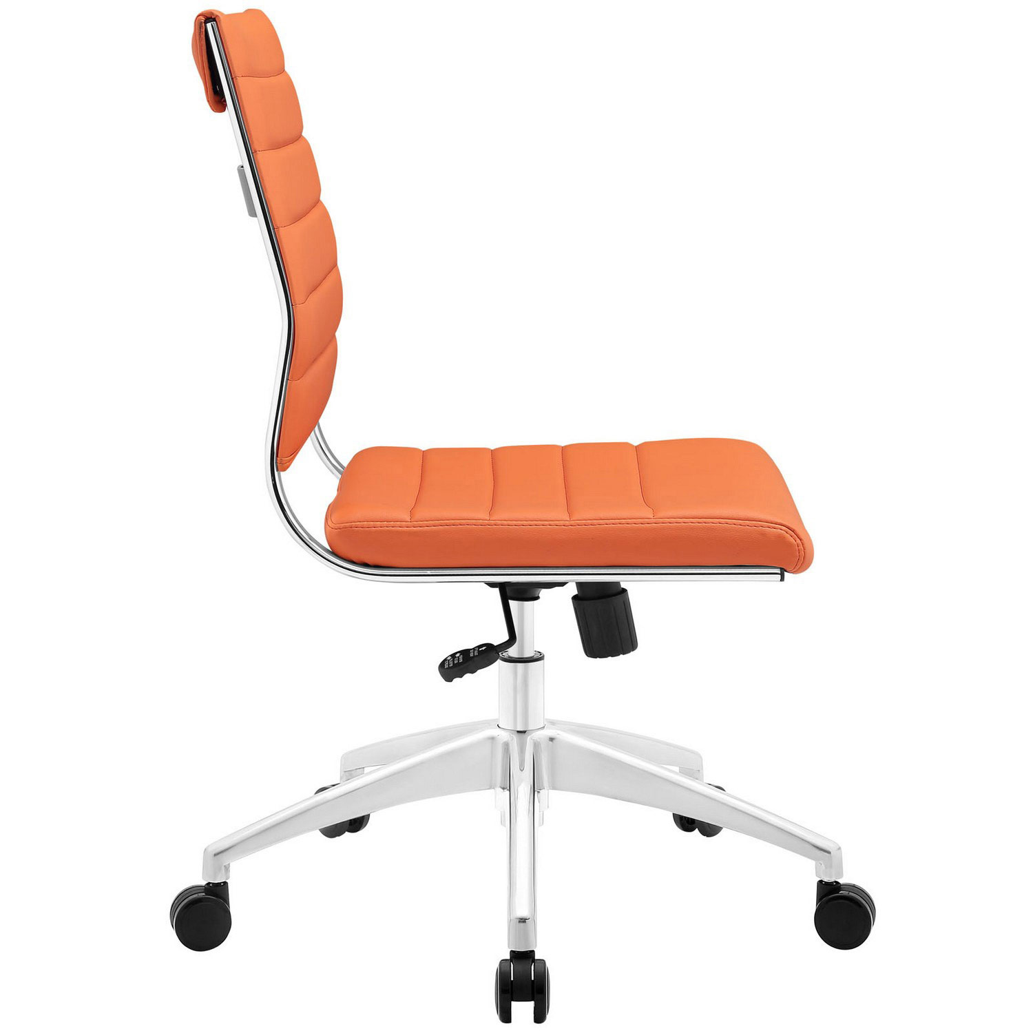 Modway Jive Armless Mid Back Office Chair - Orange