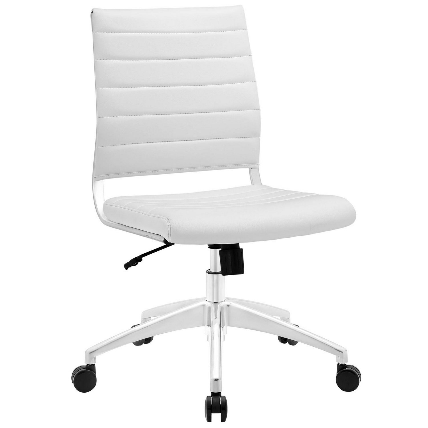 Modway Jive Armless Mid Back Office Chair - White
