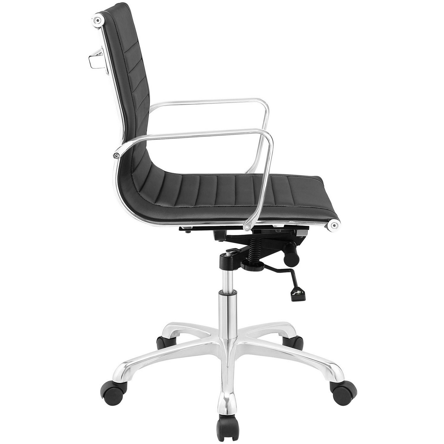 Modway Runway Mid Back Office Chair - Black