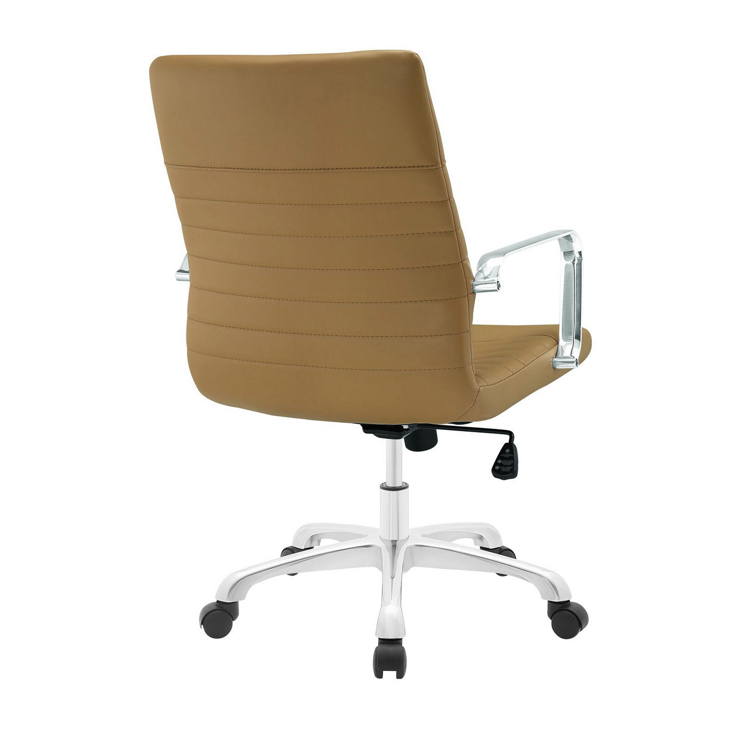 Modway Finesse Mid Back Office Chair - Tan