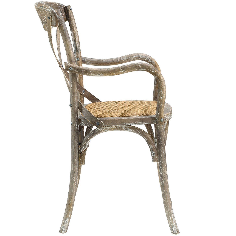 Modway Gear Dining Armchair - Gray