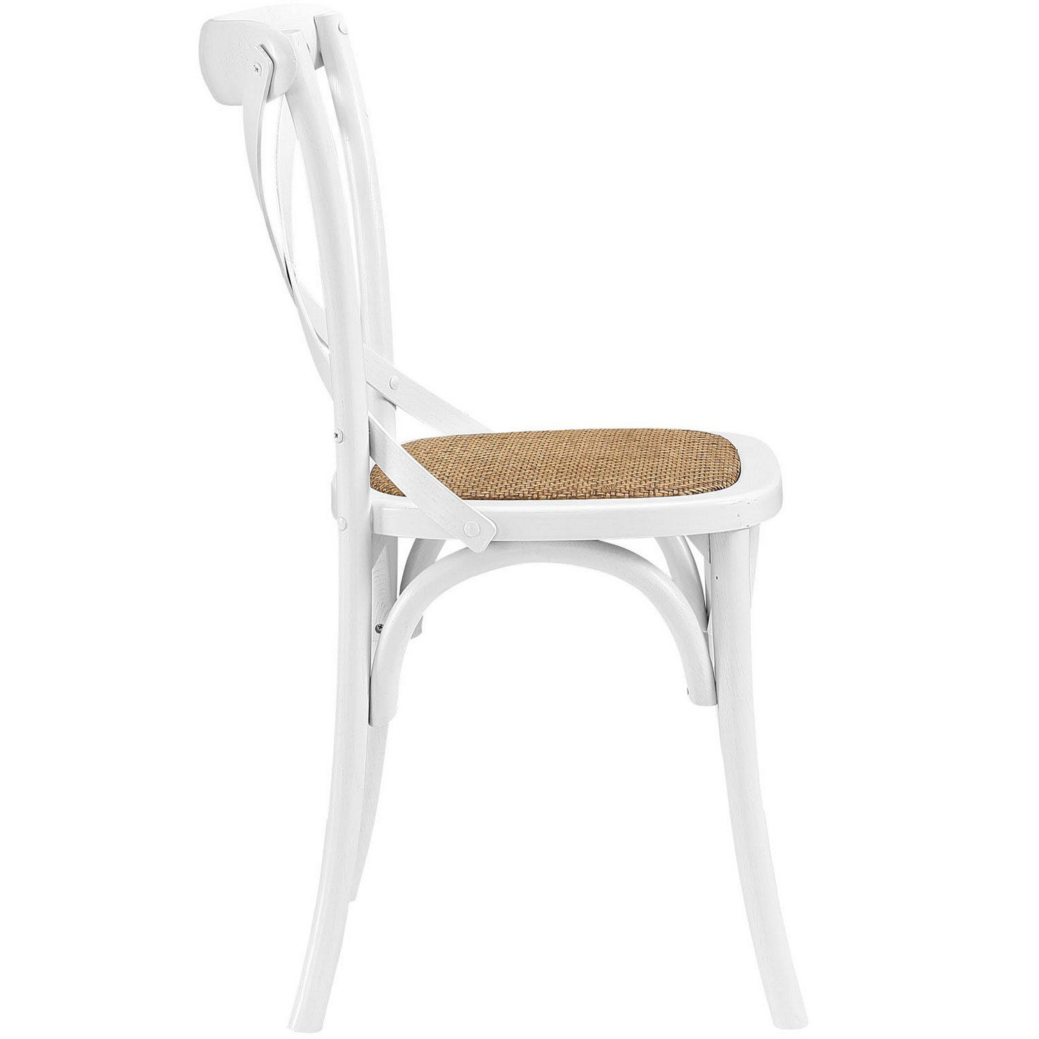 Modway Gear Dining Side Chair - White