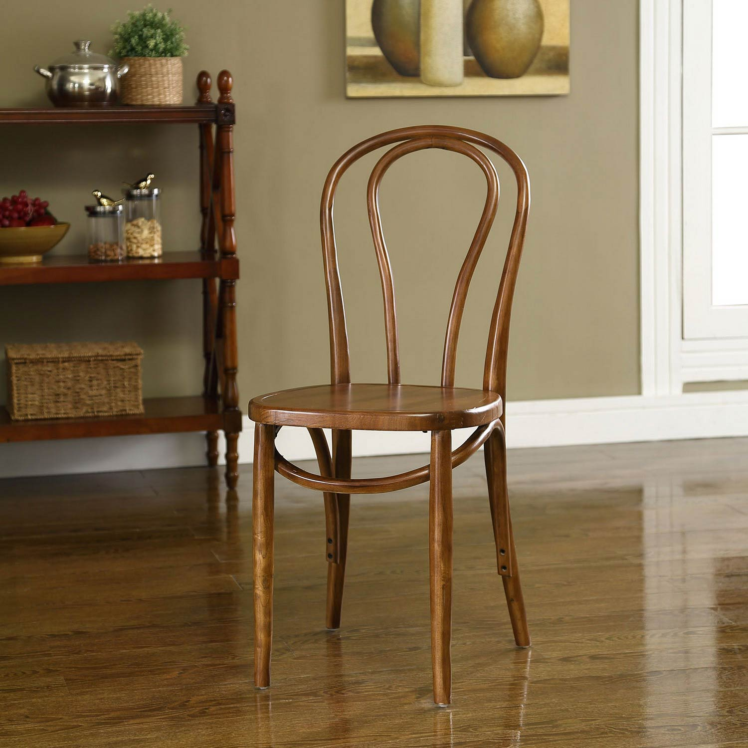 Modway Eon Dining Side Chair - Walnut