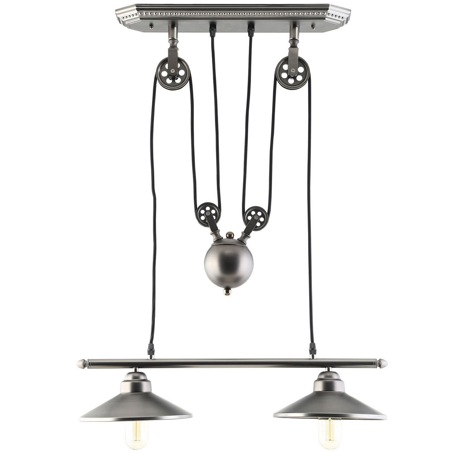Modway Innovateous Ceiling Fixture - Silver