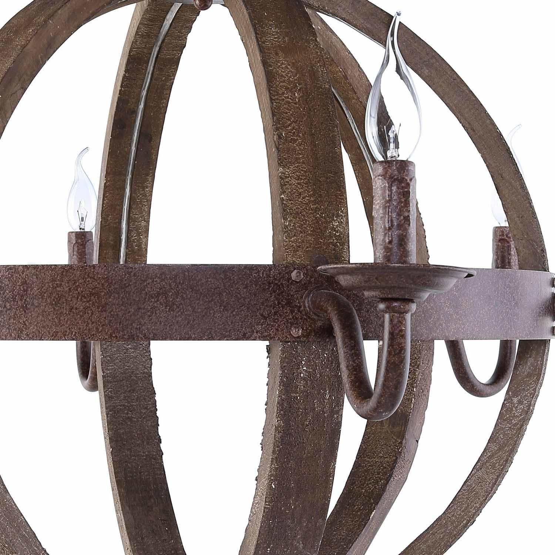 Modway Catapult Chandelier - Antique Brass