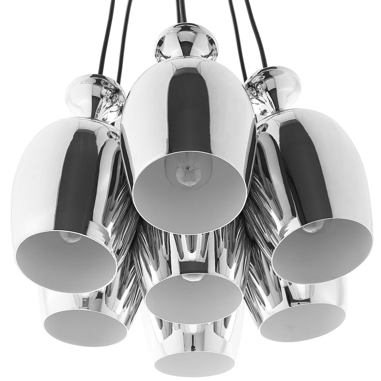 Modway Goodwill Metal Chandelier - Silver
