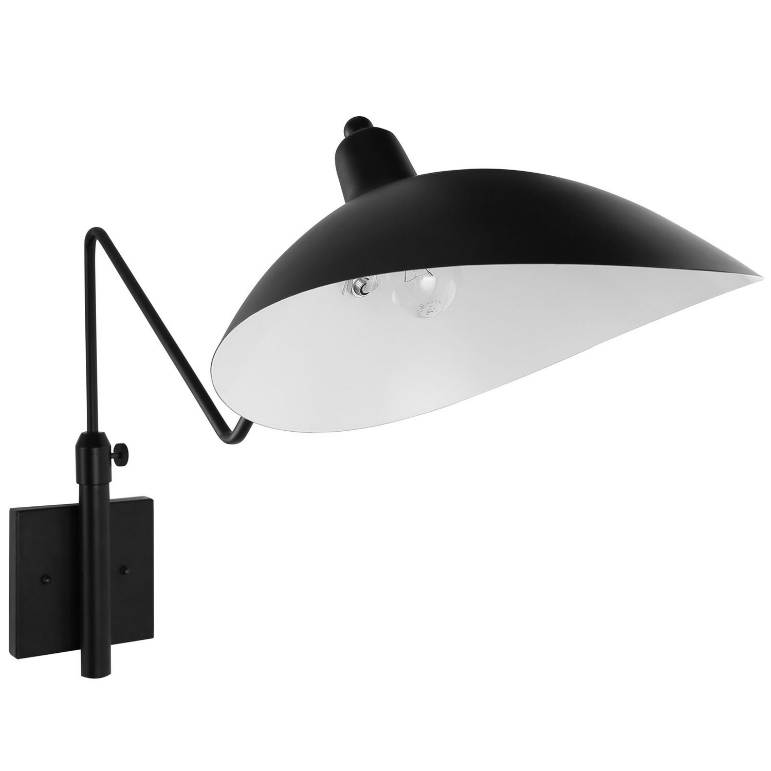 Modway View Wall Lamp - Black