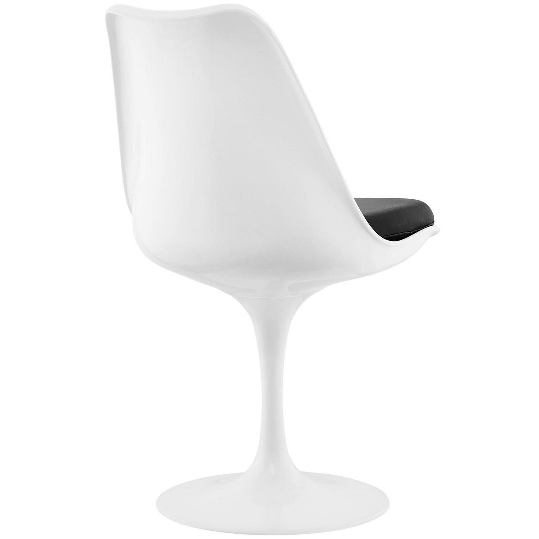 Modway Lippa Dining Vinyl Side Chair - Black