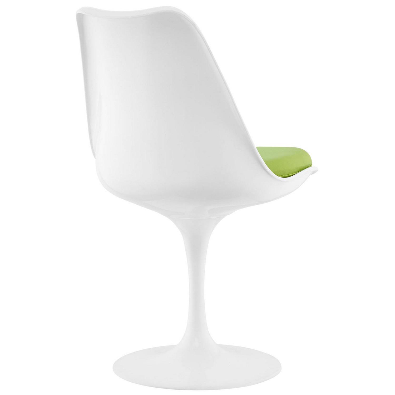 Modway Lippa Dining Vinyl Side Chair - Green