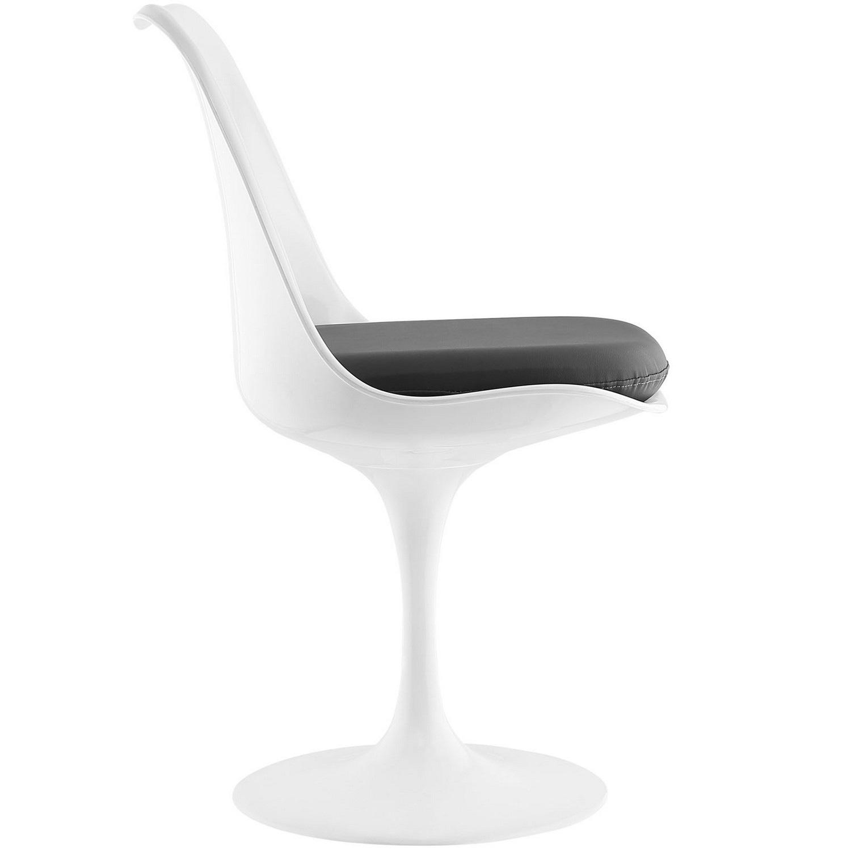 Modway Lippa Dining Vinyl Side Chair - Gray